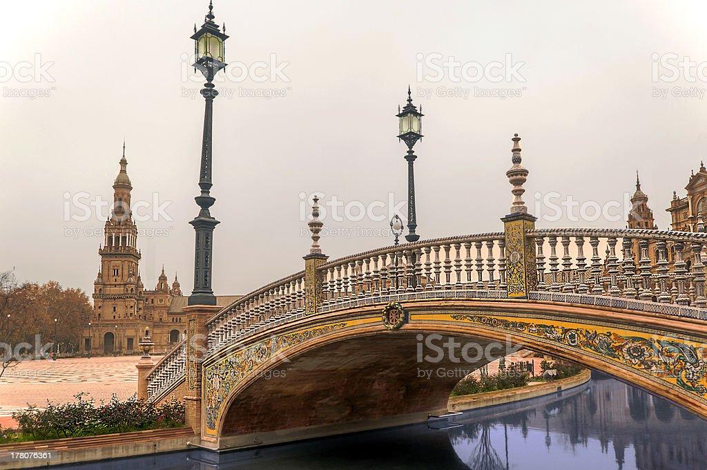 Bridge In Plaza Of Spain Stock Photo Download Image Now Istock