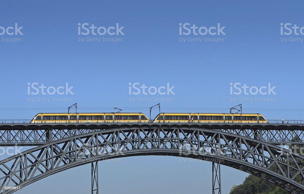 Bridge in Porto royalty-free stock photo