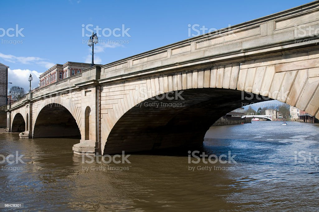 Bridge in York, England royalty-free stock photo