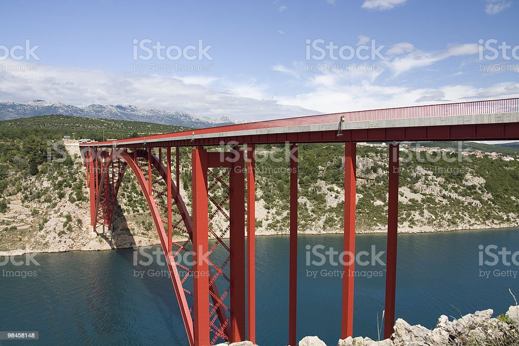 Bridge in Zadar (Croatia) royalty-free stock photo