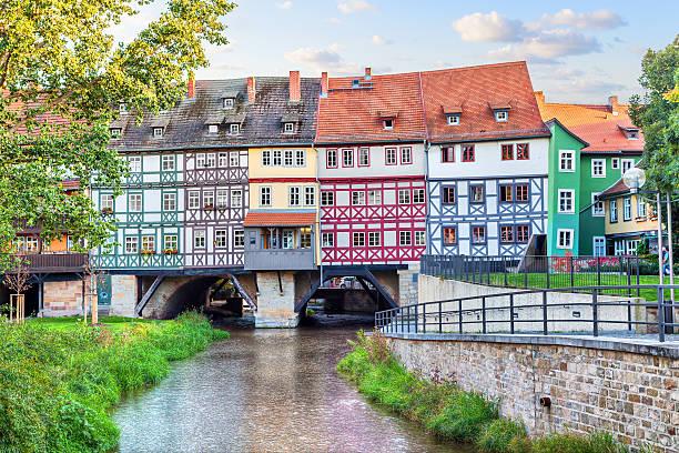 Brücke Kramerbrucke in Erfurt – Foto