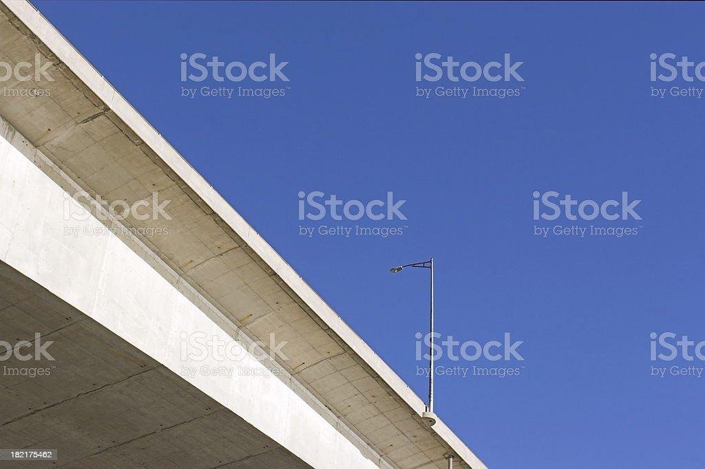 Bridge Lamppost royalty-free stock photo