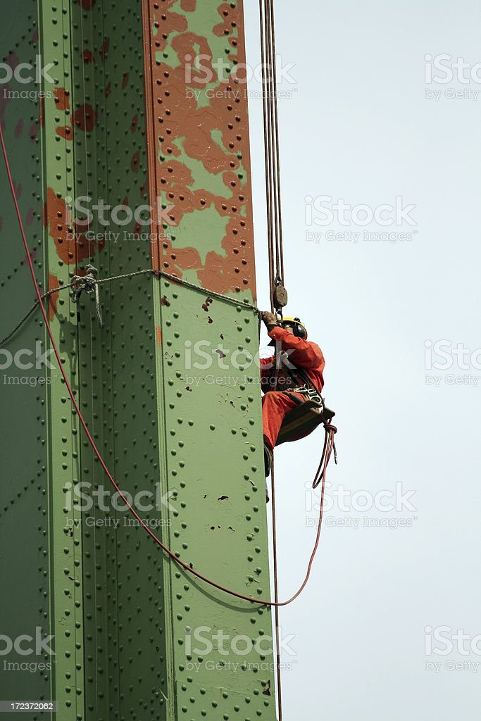 Bridge Maintenance stock photo