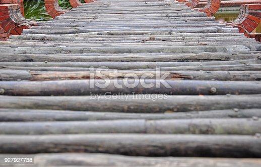 istock A bridge make from wood 927927738