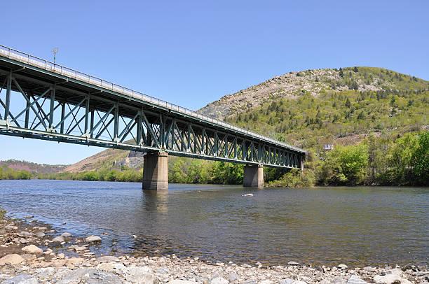 bridge near Slatington, Pennsylvania stock photo