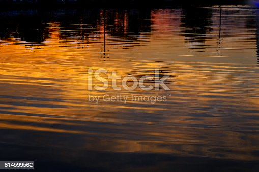 istock bridge night city reflected in water Uzhorod 814599562