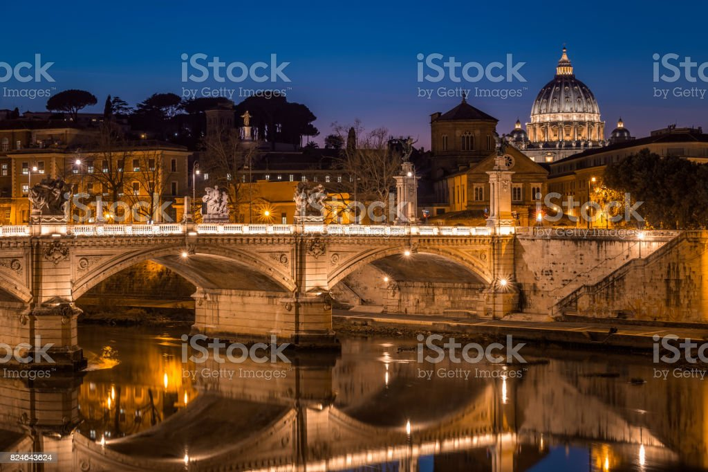 Bridge of Angels stock photo