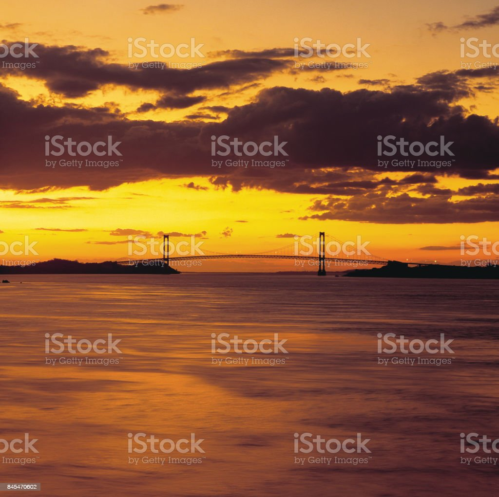 Bridge of Angostura stock photo