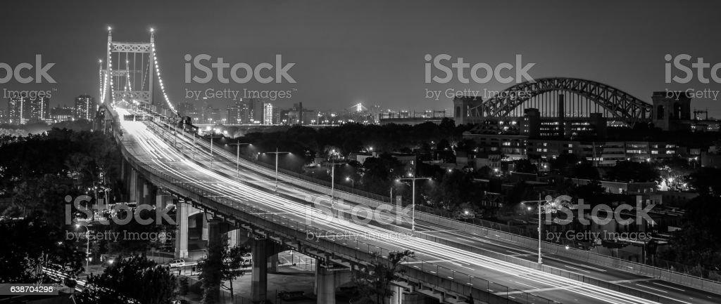 RFK Bridge of Astoria stock photo