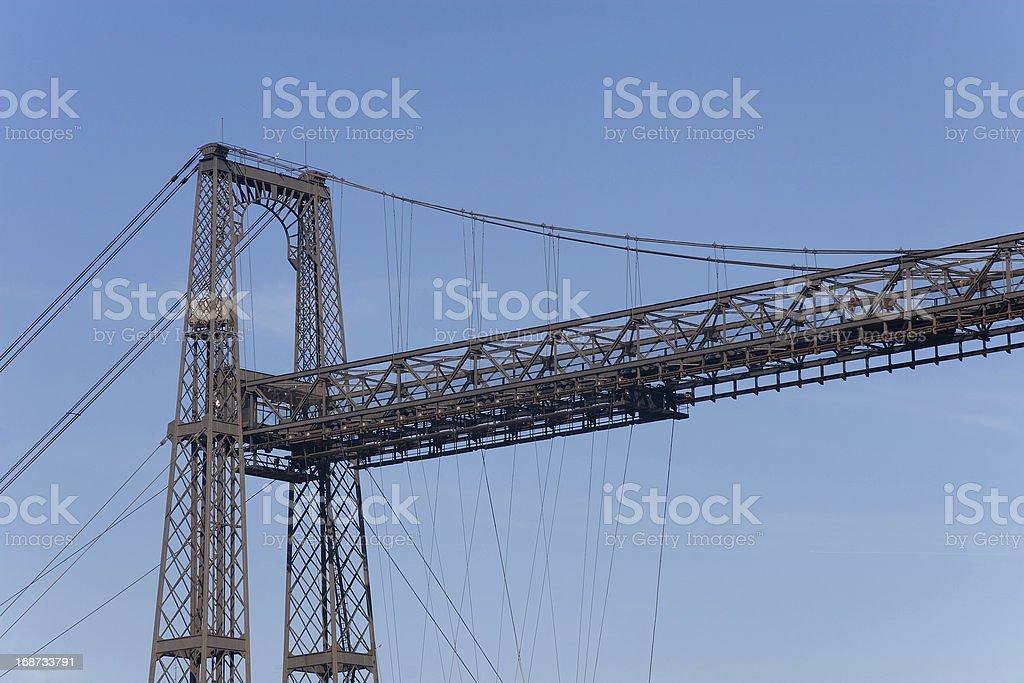 Bridge of Bizkaia, Portugalete stock photo