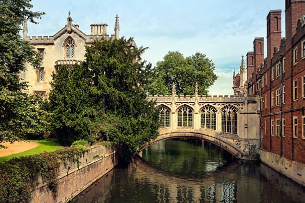 Bridge of Sighs, Cambridge. stock photo