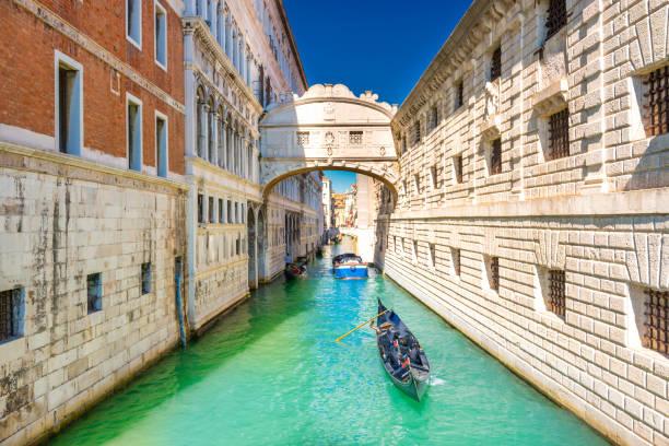 Seufzerbrücke in Venedig – Foto
