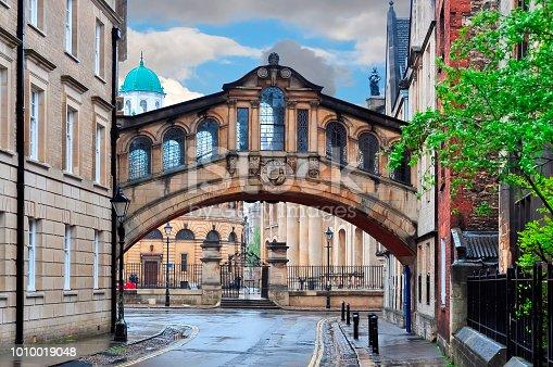 Bridge of Sighs (Hertford bridge), Oxford, UK