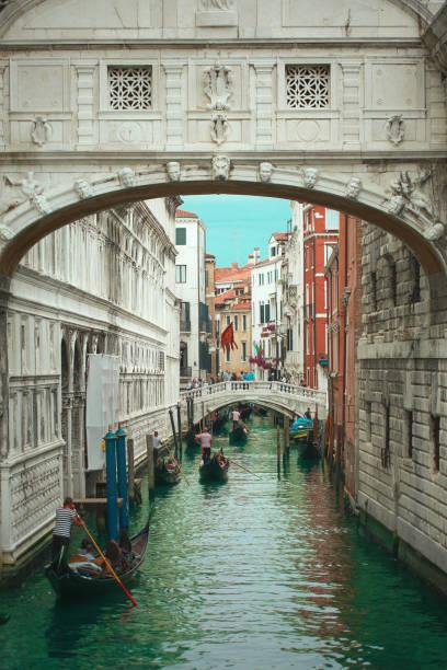 Bridge of Sighs - Venice Italy stock photo