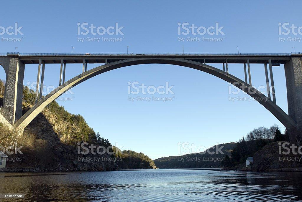 Bridge of Svinesund stock photo