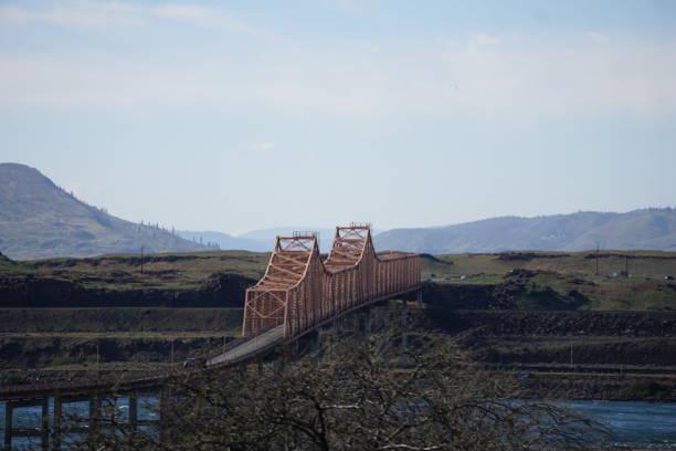 Bridge of the Gods stock photo