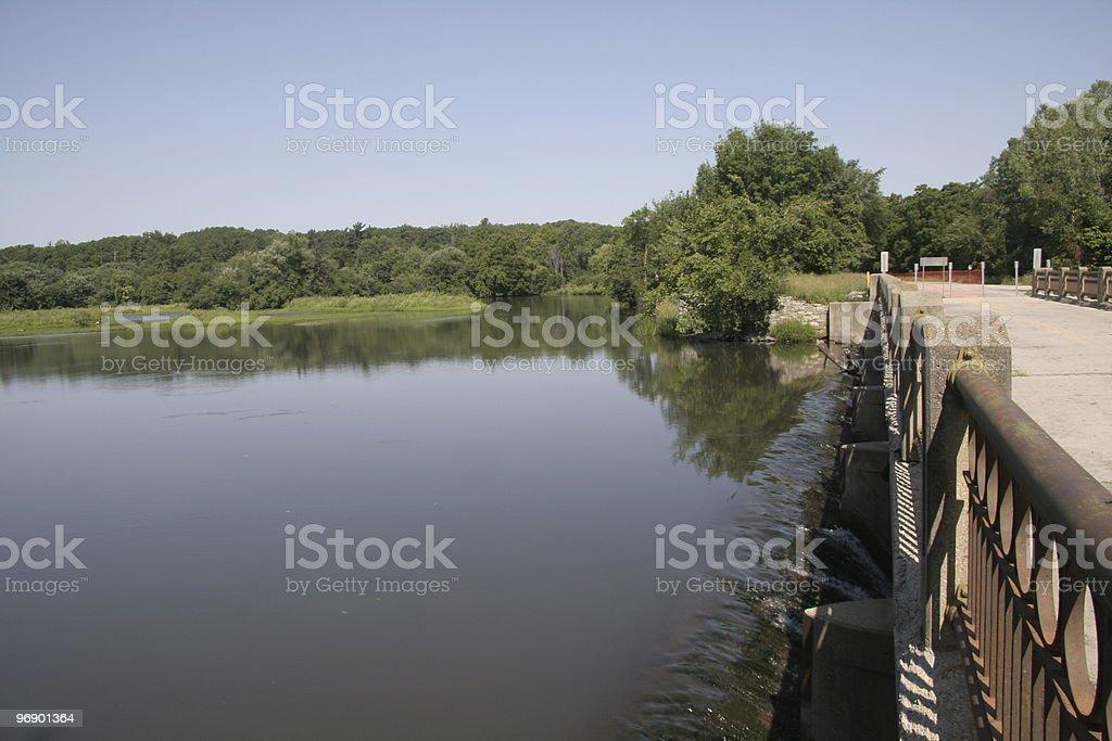 Bridge on Zumbrow River royalty-free stock photo