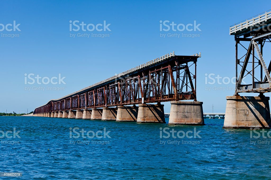 Bridge Out stock photo