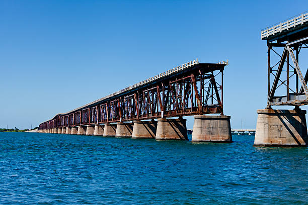 bridge out - incomplete stock pictures, royalty-free photos & images