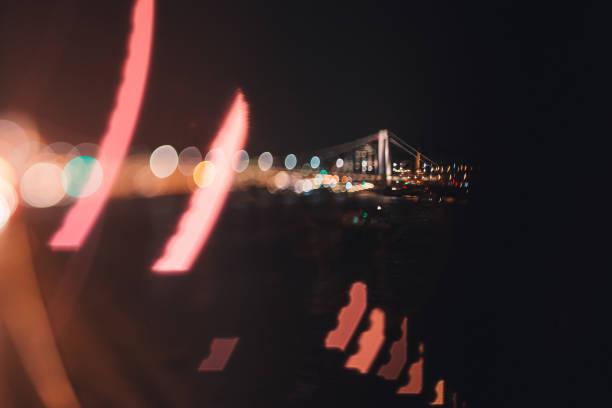Bridge over Danube in Budapest stock photo