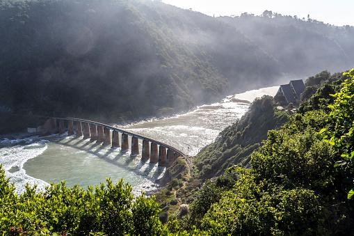 Bridge over River Mouth, Garden Route, South Africa