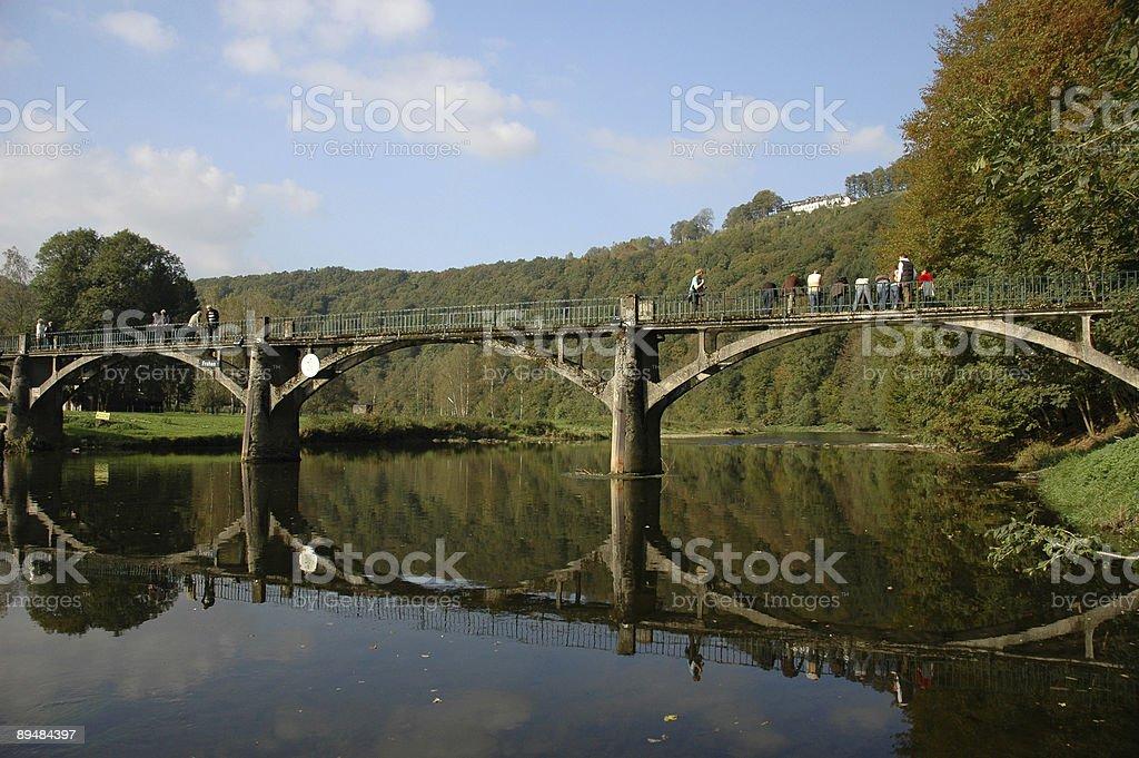 Pont sur la rivière Semois - Photo