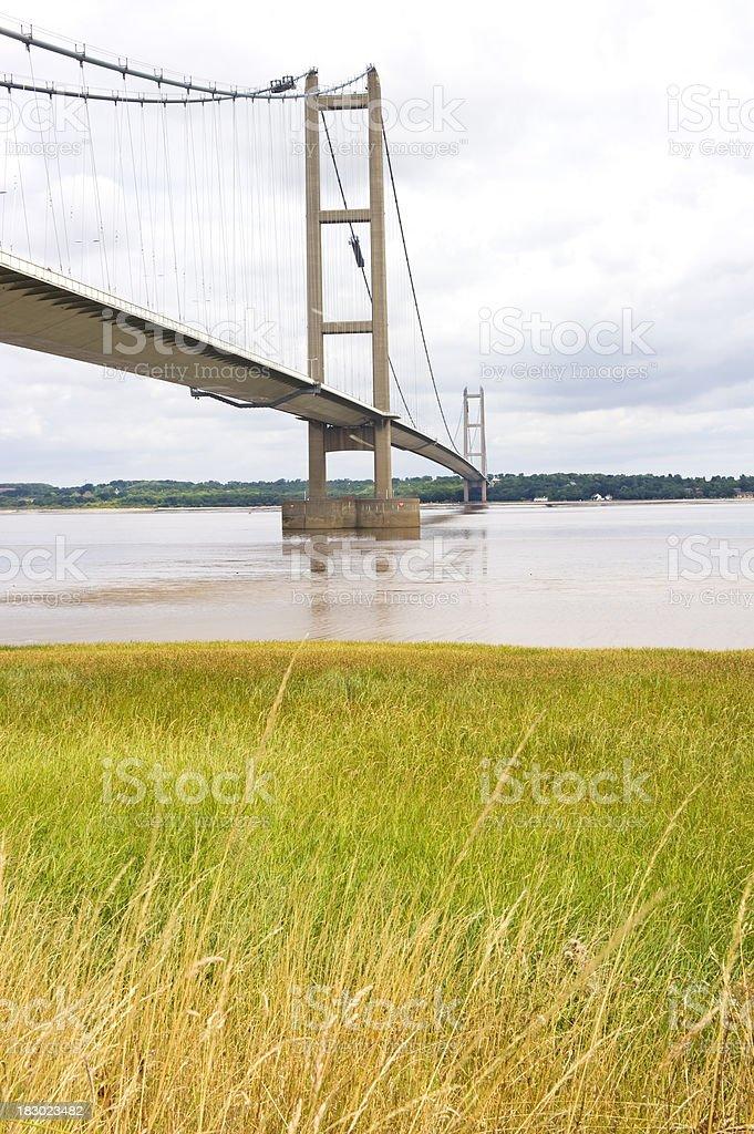 Bridge over the Humber royalty-free stock photo