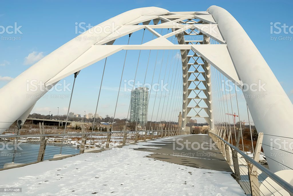 Bridge over Troubles Water royalty-free stock photo