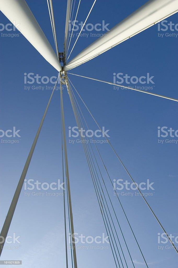 Bridge Overhead royalty-free stock photo