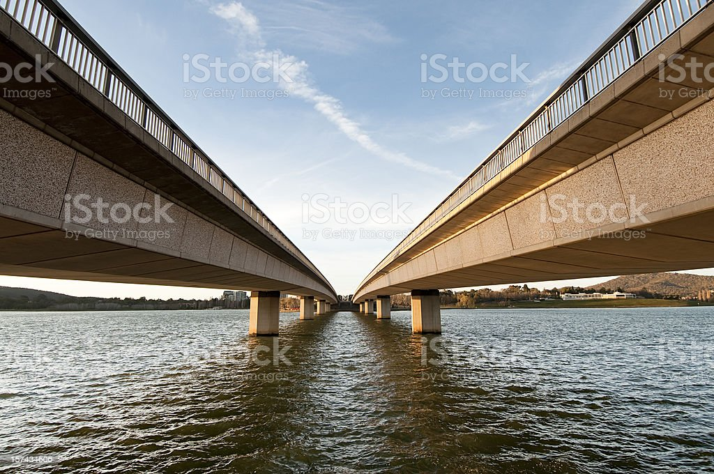 Bridge Perspective stock photo