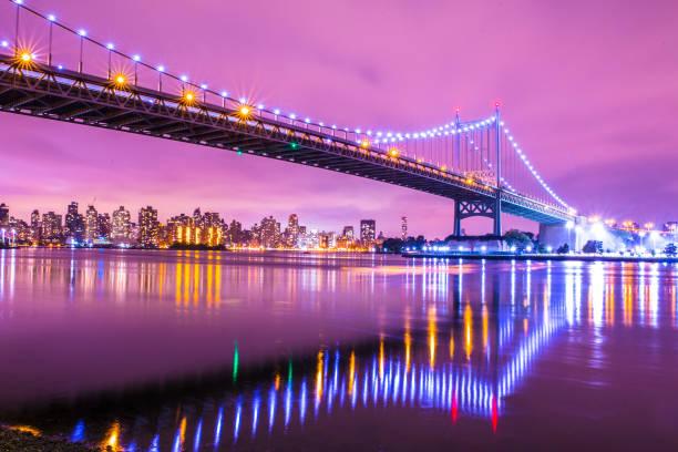 NYC Bridge stock photo