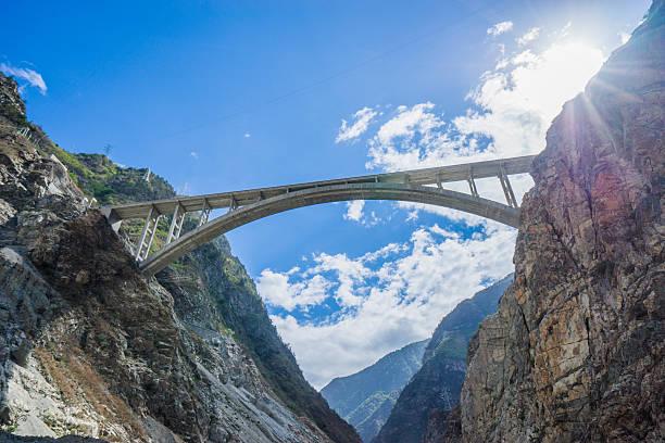 Bridge Bridge ravine stock pictures, royalty-free photos & images