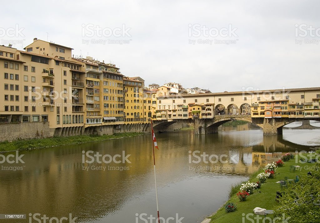 Bridge Ponte Vecchio in Florence, Italy royalty-free stock photo