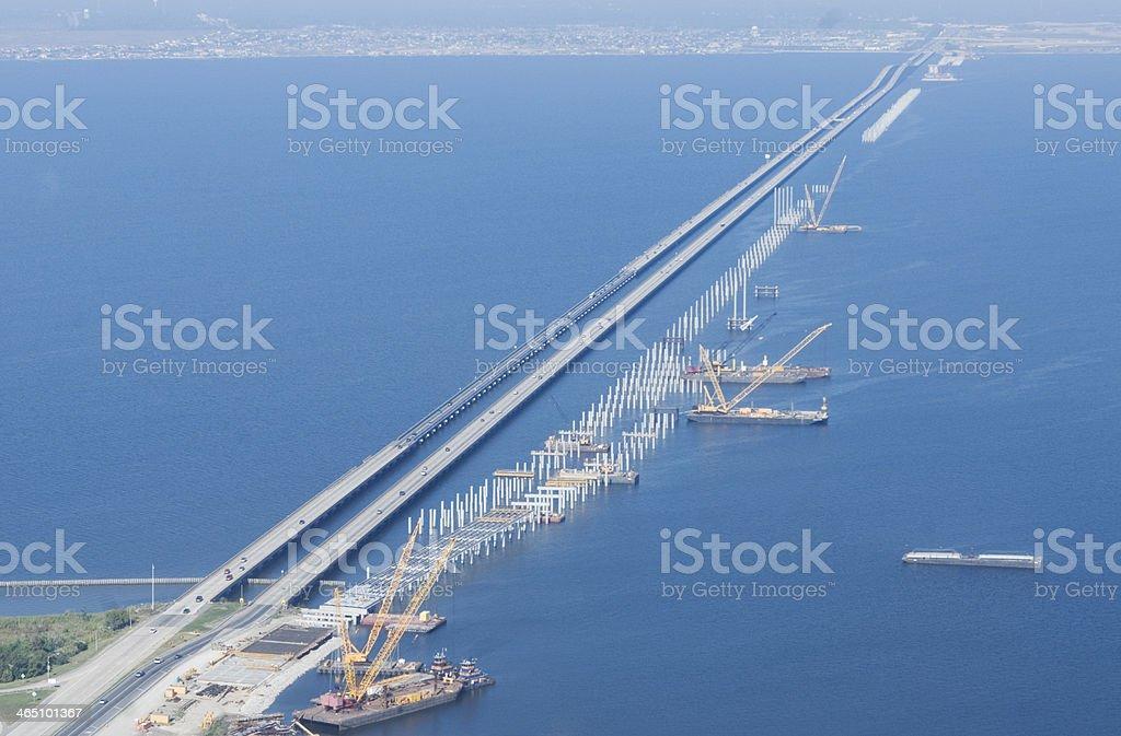 Bridge Repair stock photo