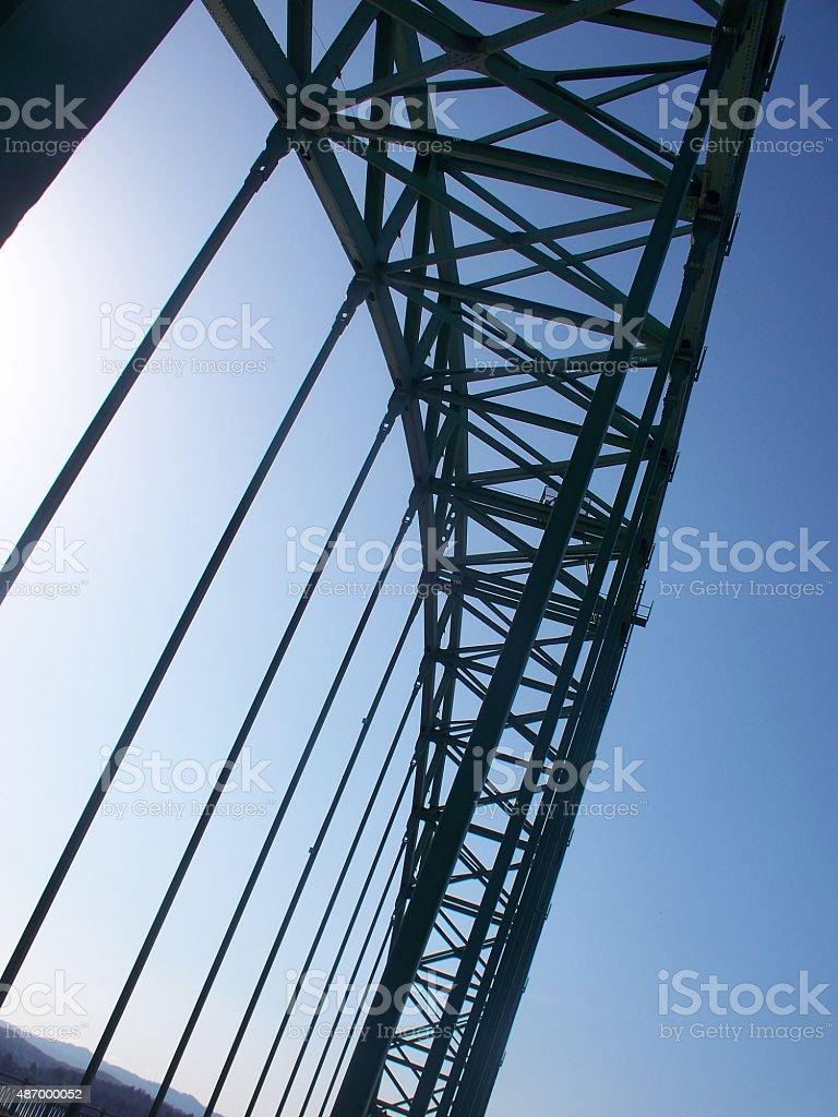 Bridge Silhouette stock photo