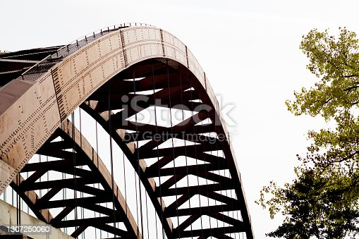 Bridge. Thaddeus Kosciusko Bridge in Albany NY.