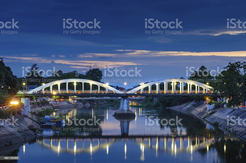 Bridge thailand royalty-free stock photo