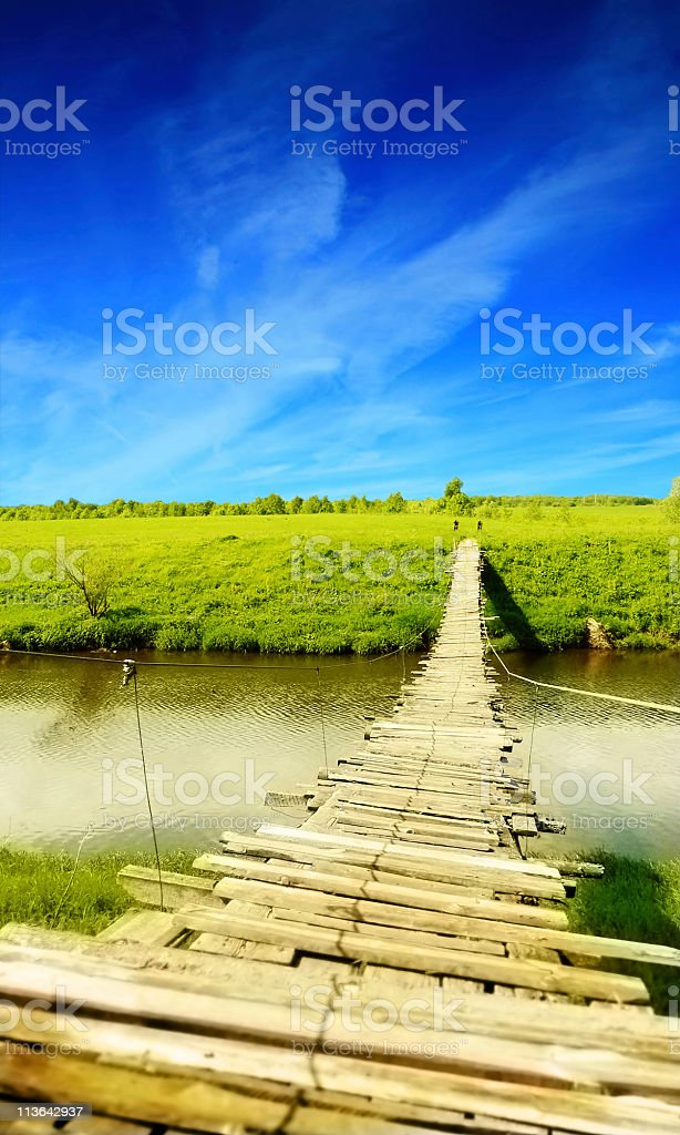 Bridge to heaven royalty-free stock photo