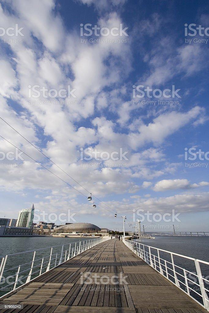Bridge to heaven royalty-free stock photo