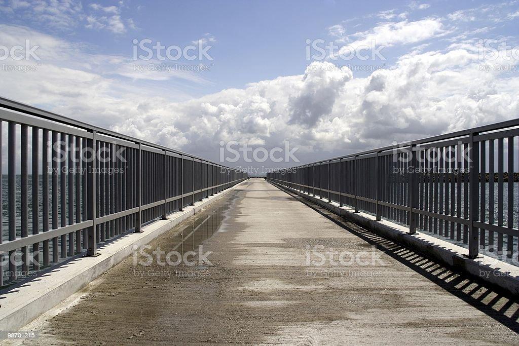 Bridge to infinity royalty-free stock photo