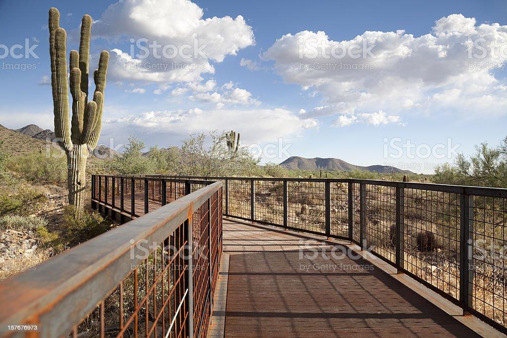 Bridge to the Great Southwest stock photo