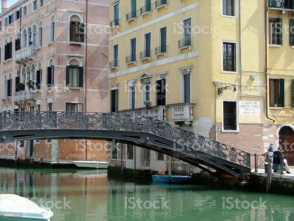 """Bridge to the """"Ghetto"""" royalty-free stock photo"""