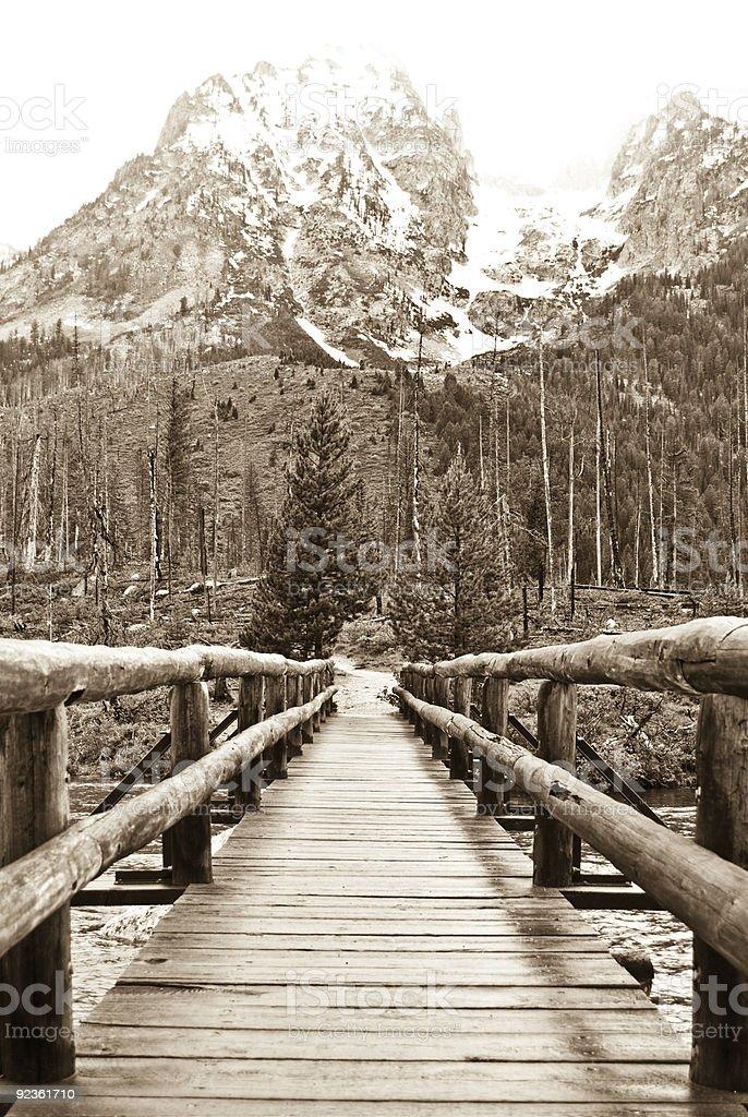 Bridge To Yesterday royalty-free stock photo