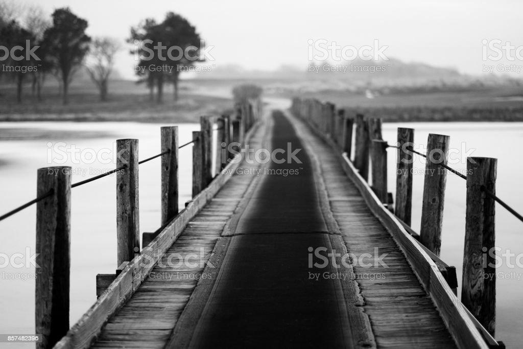 A Bridge Too Far stock photo