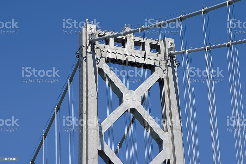 Bridge Tower royalty-free stock photo