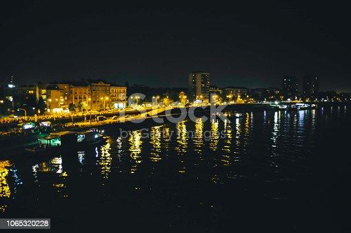 544101220 istock photo Bridge traffic at night 1065320228