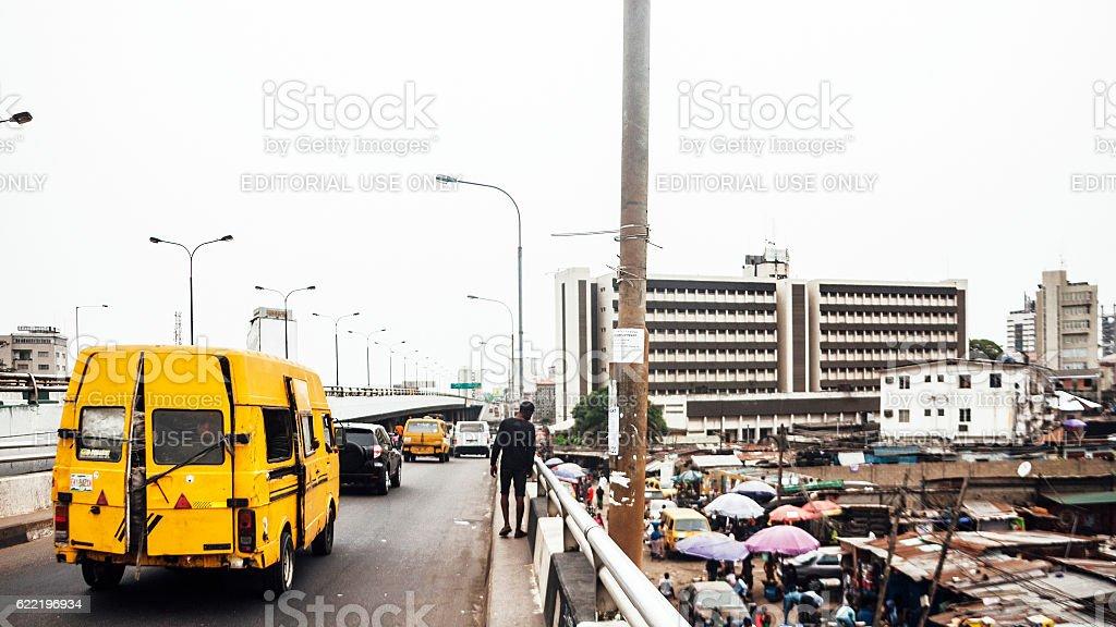 Brücke Verkehr Lagos Nigeria Stockfoto 622196934   iStock