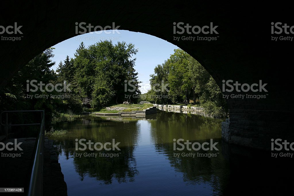 Bridge View royalty-free stock photo