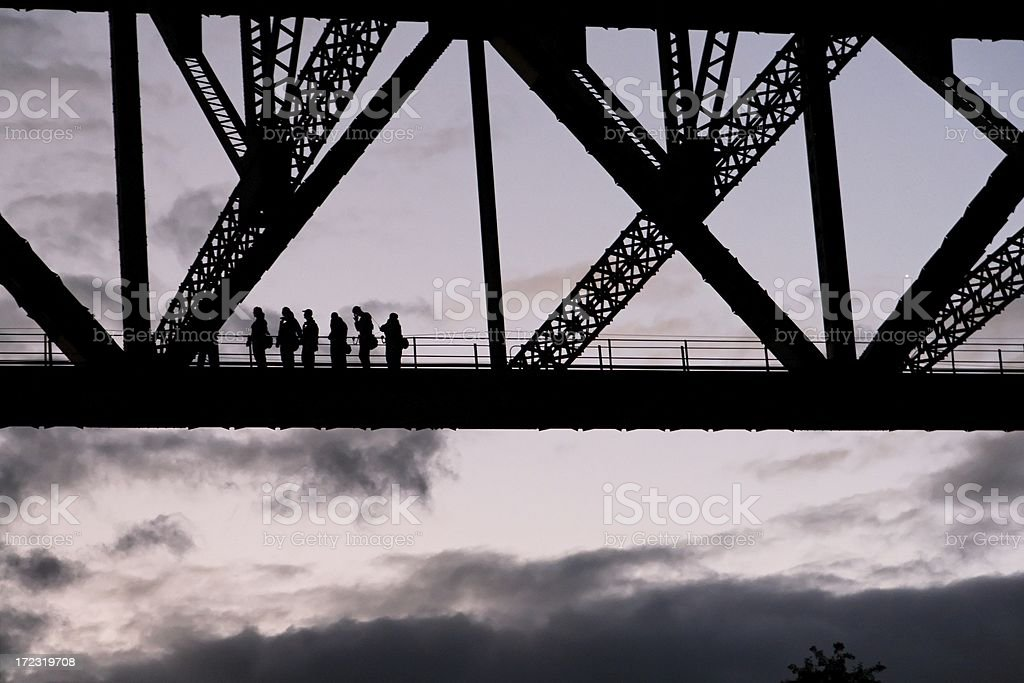Bridgeclimb stock photo