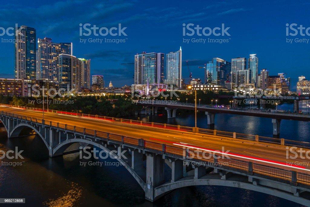 Bridges in Austin, Texas zbiór zdjęć royalty-free
